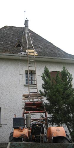 Installation ADSL 'agricole'